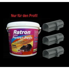 SET Ratron Pasten Power-Pads 29 ppm 2505 g + 3...