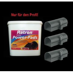 SET Ratron Pasten Power-Pads 29 ppm 5010 g + 3...