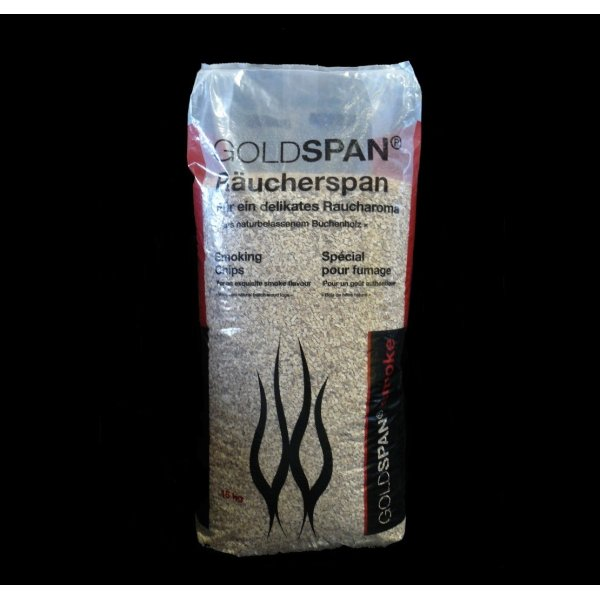 Goldspan smoke Räucherspan B 10/40, 3,0-5,0 mm 15 kg
