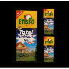 3 x Etisso Total Unkraut-frei Ultra 250 ml...