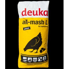 deuka all-mash L GEKÖRNT 25 kg